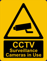 CCTV Surveillance Cameras in Use