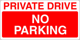 Private Parking Rigid Sign