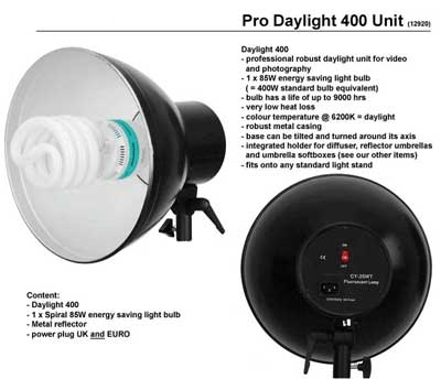 Daylight 150W Lamp Head