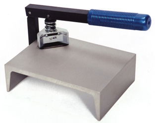 Corner Shapers for materials requiring Rounding, Notching, Scalloping, Slotting or Piercing