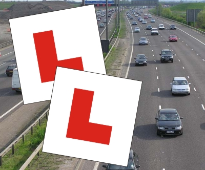 Click to Buy Magnetic Learner Driver L Plates