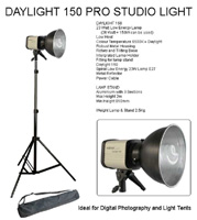Daylight 150 Lamp with Stand