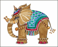 Magnetic Marketing Fridge Magnets Of Elephants