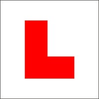 Learner Driver Magnetic R Plates for Isle of Man Magnetic Sheet 100/% magnetic grip