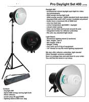 Low Energy Daylight Lamp Studio Light with stand- 400W