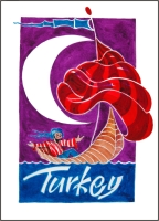 Turkey  Fridge Magnet