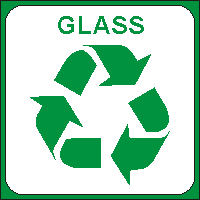 Identify your Glass for Recycling Bin